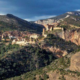 Vista de la villa de Alquézar.  (Turismo de Somontano)