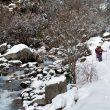 El camino de Estós completamente cubierto de nieve. Ruta por los Ibones de Batisielles en Benasque  (Ignacio Ferrando)