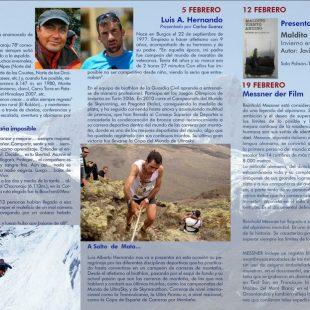 Cartel Ciclo de Proyecciones Montañas del Mundo 2016  ()
