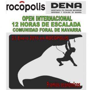 I Open Internacional DENA Rocópolis 12h de escalada en Berrioplano. 2016  ()