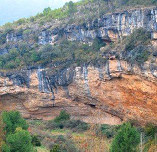 Barranco del Fin del Mundo (cañón de la izquierda)