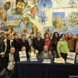 Presentación en la librería Desnivel del libro Gredos en El recuerdode Carlos Frías.Gran parte de los asistentes al acto