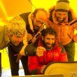 Dhaulagiri2011. Campo Base Dhaulagiri.Los miembros de la expedición Carlos Martínez