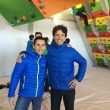 Ramon Julián y David Macià en el IndoorWall Alicante  ()