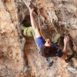 Adam Ondra en Stoking the fire 9b de Santa Linya  (Manabu Yoneyama)