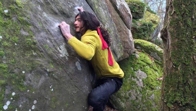 Charles Albert en Le pied à coulisse 8C de Fontainebleau  (Sandstones Media)