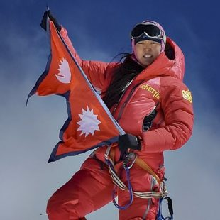 Pasang Lhamu Sherpa Akita