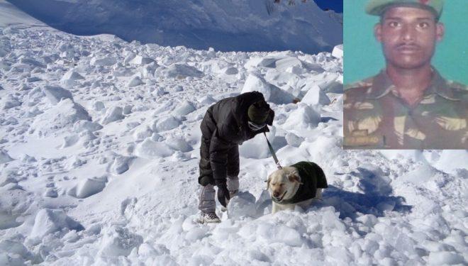 Zona de la avalancha en el glaciar Siachen  (IBN Live)