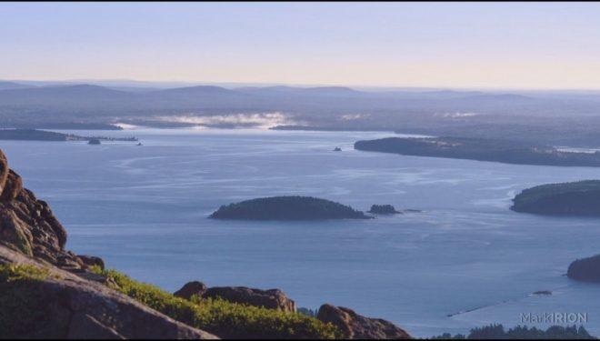 Fotograma del timelapse del Parque Nacional Acadia