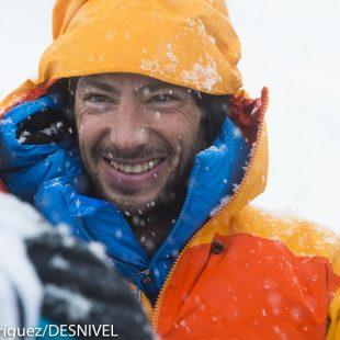 Kilian Jornet en la meta tras primera etapa Altitoy 201  (© Darío Rodríguez/DESNIVEL)