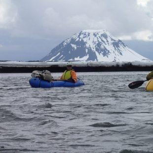 Aventureros españoles en su travesía del norte al sur de Islandia. 2015  ()