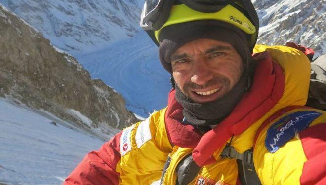 Daniele Nardi en el Nanga Parbat invernal 2015/16  (Col. D. Nardi)