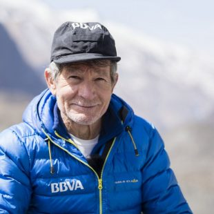 Carlos Soria en el Annapurna. Abril 2016  (Col. Carlos Soria)