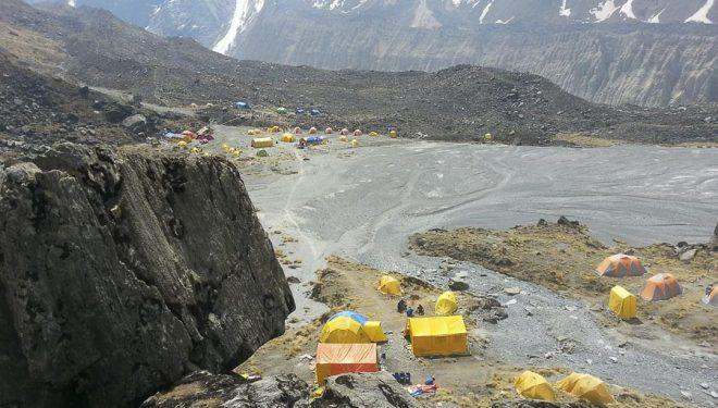 Campo base del Annapurna
