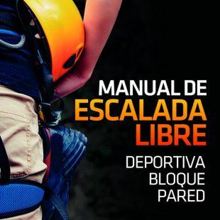 Portada del libro: Manual de escalada libre. Deportiva