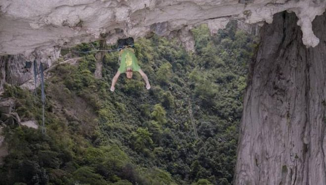 Felipe Camargo en Corazón de ensueño en el Valle de Gétû (China)  (Foto: Chris Alstrin)