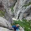 Rafa Vadillo escalando en el Veliki Cuk del International Climbing Meeting 2016 de Paklenica  (Rafa Vadillo)