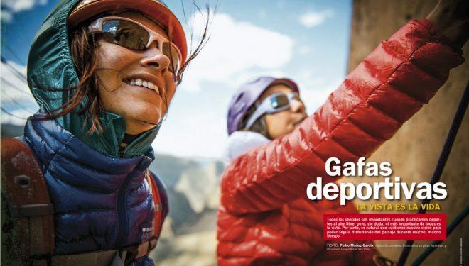 Apetura del artículo de Grandes Espacios nº 208. Maro 2015: Gafas deportivas  ()