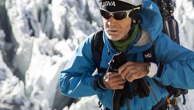 Carlos Soria en el Annapurna 2016  (© Expedición BBVA)