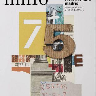 Cartel de la Feria del Libro de Madrid 2016 (©Feria del Libro de Madrid)