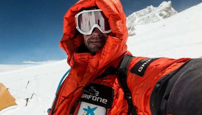 Ferran Latore en Makalu Lha (7.500m)  ()