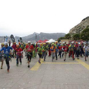 Salida del Rally 12h Peñón de Ifach 2016  (Club Alpí de Gandía)