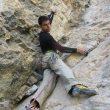 El escalador Javi Bueno