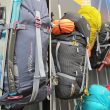 Feria Outdoor 2014. Mochilas Alpine Attack y Mountain Attack de Lowe Alpine.  ()