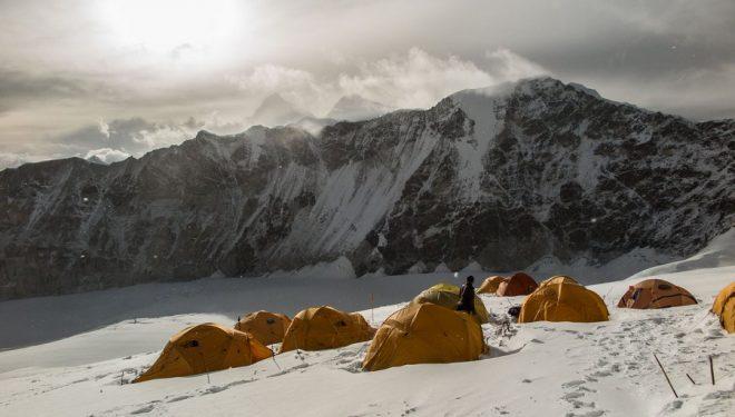 El C1 (6.600 m) del Makalu