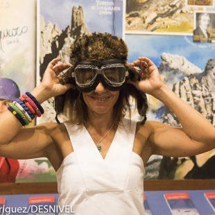 Chus Lago rememora su expedición a la Antártida en la Librería Desnivel.  (@Darío Rodríguez)