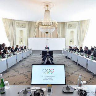 Reunión del Comité Ejecutivo del COI  (Foto: IOC/Christophe Moratal)
