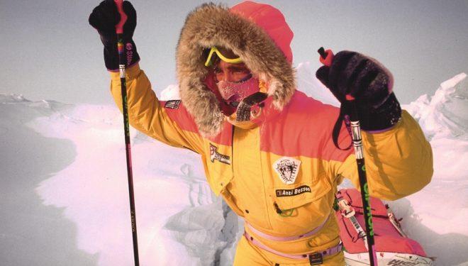 Nil Bohigas durante su expedición en 1992 al Polo Norte a pie y en solitario.  (Nil Bohigas)