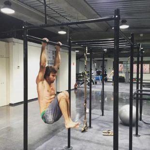 Chris Sharma entrenando en serio por primera vez en su vida  ()