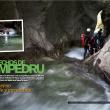 Apertura del reportaje Estrecho de Pompedru. Grandes Espacios nº 201