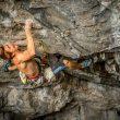 Seb Bouin en Thors hammer 9a+ en Flatanger  (Foto: Rockvision.ch)