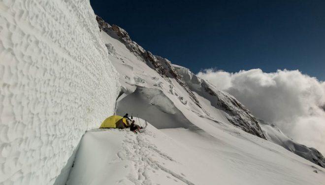 C3 de Ferran Latorre en su intento al Nanga Parbat por la ruta del glaciar Diama  (Foto: Ferran Latorre)