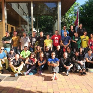 Reunión en Cuenca (17 y 18 de junio de 2016) de Escalada Sostenible con otras asociaciones (DENA