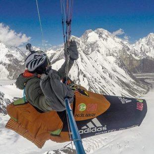 Antoine Girard con el K2