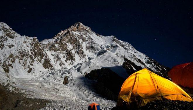 K2 desde el campo base en 2016  (Foto: Nick Rice)