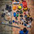 Todo el material que llevará Kilian Jornet al Everest  (Col. K. Jornet)