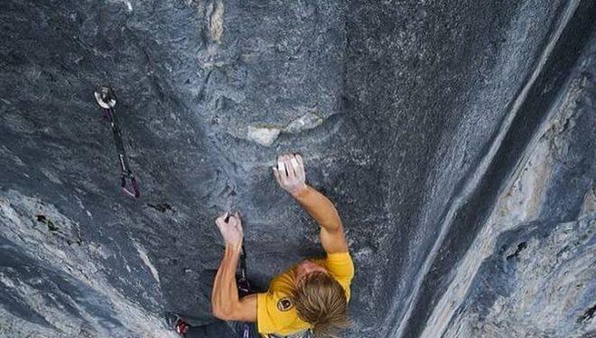 Alex Megos en Fightclub 9b de Ravens Crag (Canadá)  (Foto: Sonnie Trotter)