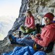 Roger Schaeli y Mayan Smith-Gobat en La vida es silbar a la cara norte del Eiger  (Foto: Frank Kretschmann)