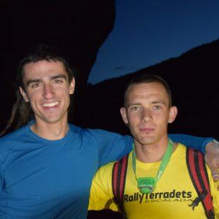 Jesús Ibarz y Álvaro Lafuente ganadores del Rally 12h Escalada Terradets 2016  ()