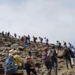 Setecientas personas formaban la cadena humana que subió hasta el Elorrieta.  (Miguel Rodríguez)