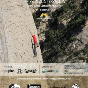 Cartel promocional Rally 12h Terradets 2016  (©Rally 12h Terradets)