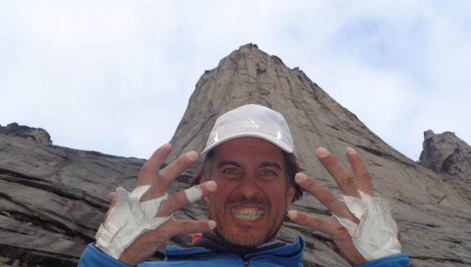 Carlos Suárez en el Ulamertorsuaq (Groenlandia