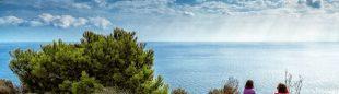 Calblanque un lugar tranquilo y protegido para vivir y reproducirse. A todo ello hay que sumar un paisaje monumental