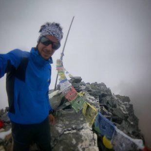 Kilian Jornet aclimatando en Langtang. Septiembre 2016  (Col. Kilian Jornet)