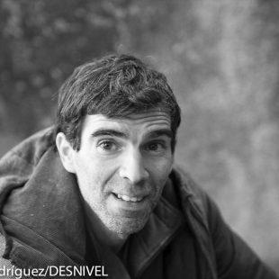 Dani Andrada a finales diciembre 2014.  (© Darío Rodríguez/DESNIVEL)