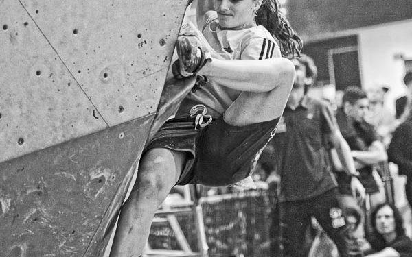 Maud Ansade en el Campeonato de España de Búlder 2016  (Darío Rodríguez)